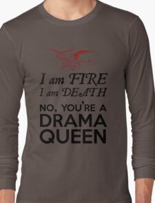 [The Hobbit] - Drama Queen Smaug Long Sleeve T-Shirt