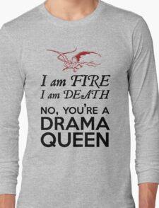 [The Hobbit] - Drama Queen Smaug Long Sleeve T-Shirt