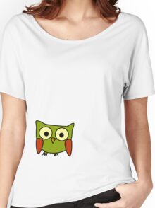 Groovy Owl Women's Relaxed Fit T-Shirt