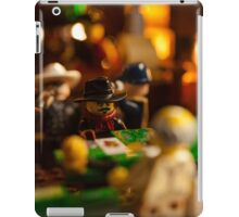 Wild West Saloon - Blackjack table iPad Case/Skin