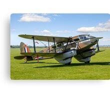 DH.89a Dragon Rapide G-AGJG Canvas Print