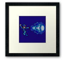Megaman master blaster Framed Print