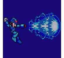 Megaman master blaster Photographic Print