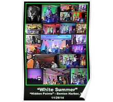 "The Original, ""White Summer"" Band!  Poster"