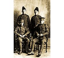 Police officers Photographic Print