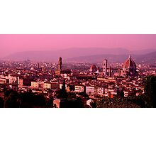 6.04pm Firenze Photographic Print