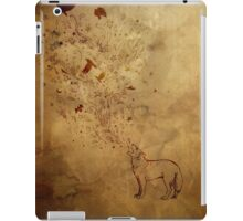 Wolfsong: earth tones iPad Case/Skin