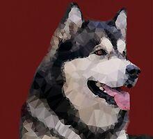 Alaskan Malamute by pup-fiction