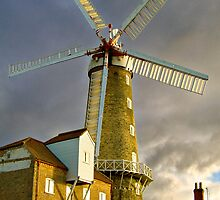Maud Foster Windmill I (Boston) by Trevor Patterson