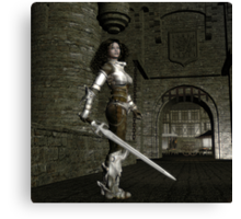 Eleanor of Aquitaine Canvas Print