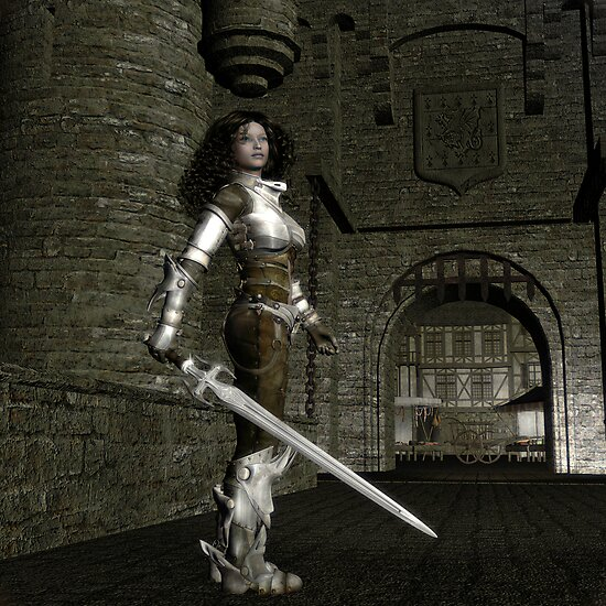 Eleanor of Aquitaine by Rose Moxon