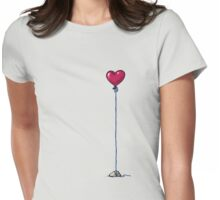 heavy heart Womens Fitted T-Shirt