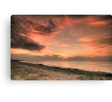 Magenta Beach Sunrise - Magenta, NSW Canvas Print