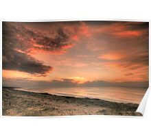 Magenta Beach Sunrise - Magenta, NSW Poster