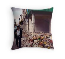 hollow town Throw Pillow