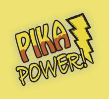 PIKA POWER Kids Clothes