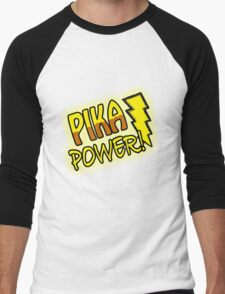 PIKA POWER Men's Baseball ¾ T-Shirt
