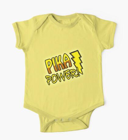 PIKA POWER One Piece - Short Sleeve