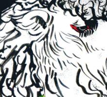 Rasta Bactrian Camel, from the Camelid Scene Sticker