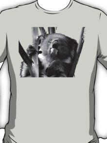 Koala 1 B&W T-Shirt