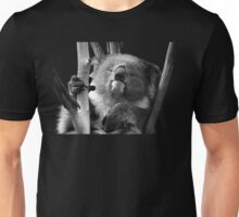Koala 1 B&W Unisex T-Shirt
