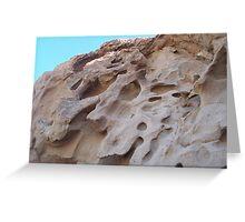 Rocks of La Paz  Greeting Card