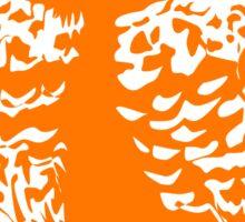 Borrowing Owl Illustration Sticker