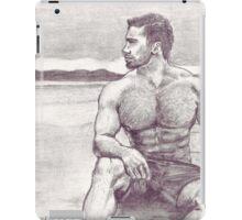 Man on Jetty iPad Case/Skin