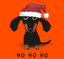 Doxie Clause Kids Tee