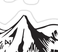 [The Hobbit] - Lonely Mountain (Light) Sticker