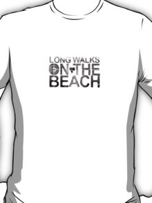 Long Walks On the beach T-Shirt