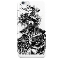 Metal Gear Rising Raiden Black and White iPhone Case/Skin