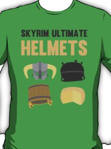 Skyrim ultimate helmets T-Shirt