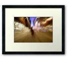Bec in the City 1 Framed Print