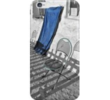 Beached at St Ives in Winter iPhone Case/Skin
