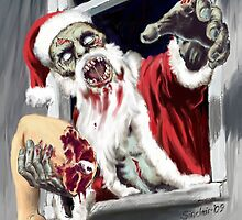 Santa's got you a real stocking filler by sinxdesigns