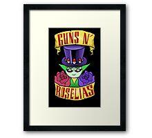 Guns N' Roselias  Framed Print