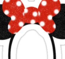 Minnie Mouse Ears Sticker