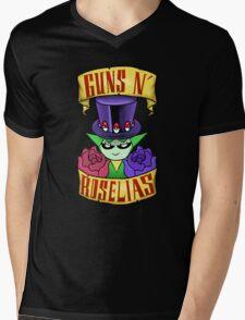 Guns N' Roselias  Mens V-Neck T-Shirt