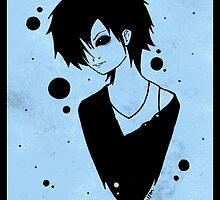 Blue Toshiya by xmoshymccoy