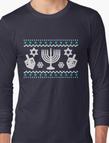 Funny Hanukkah Ugly Holiday Sweater T-Shirt