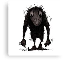 Funny Cute Scary Troll Canvas Print