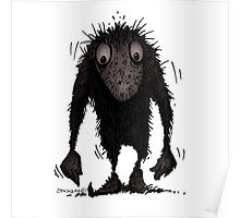 Funny Cute Scary Troll Poster