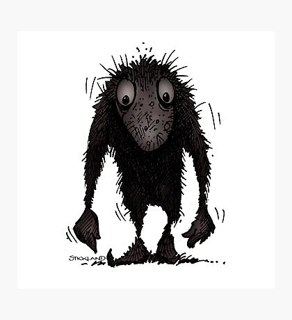 Funny Cute Scary Troll Photographic Print