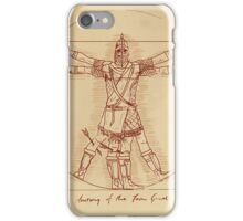 Anatomy of a Town Guard iPhone Case/Skin