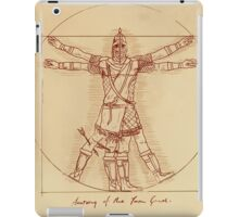 Anatomy of a Town Guard iPad Case/Skin