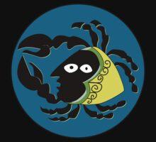 Retro Seventies Zodiac Cancer by Danielle Kerese