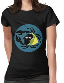Retro Seventies Zodiac Cancer Womens Fitted T-Shirt