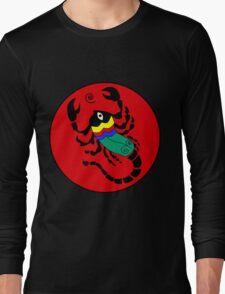 Retro Seventies Zodiac Scorpio Long Sleeve T-Shirt