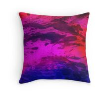 In the wake of the storm Throw Pillow